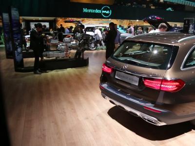 Mondial 2016 : Mercedes Classe E All Terrain
