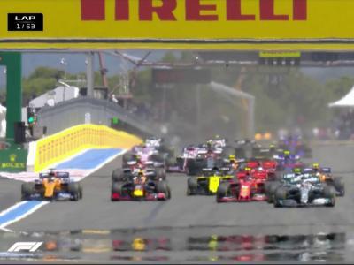 GP de France : le replay du départ
