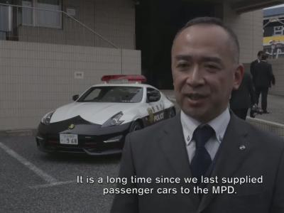 La police de Tokyo reçoit un trio de Nissan 370Z Nismo